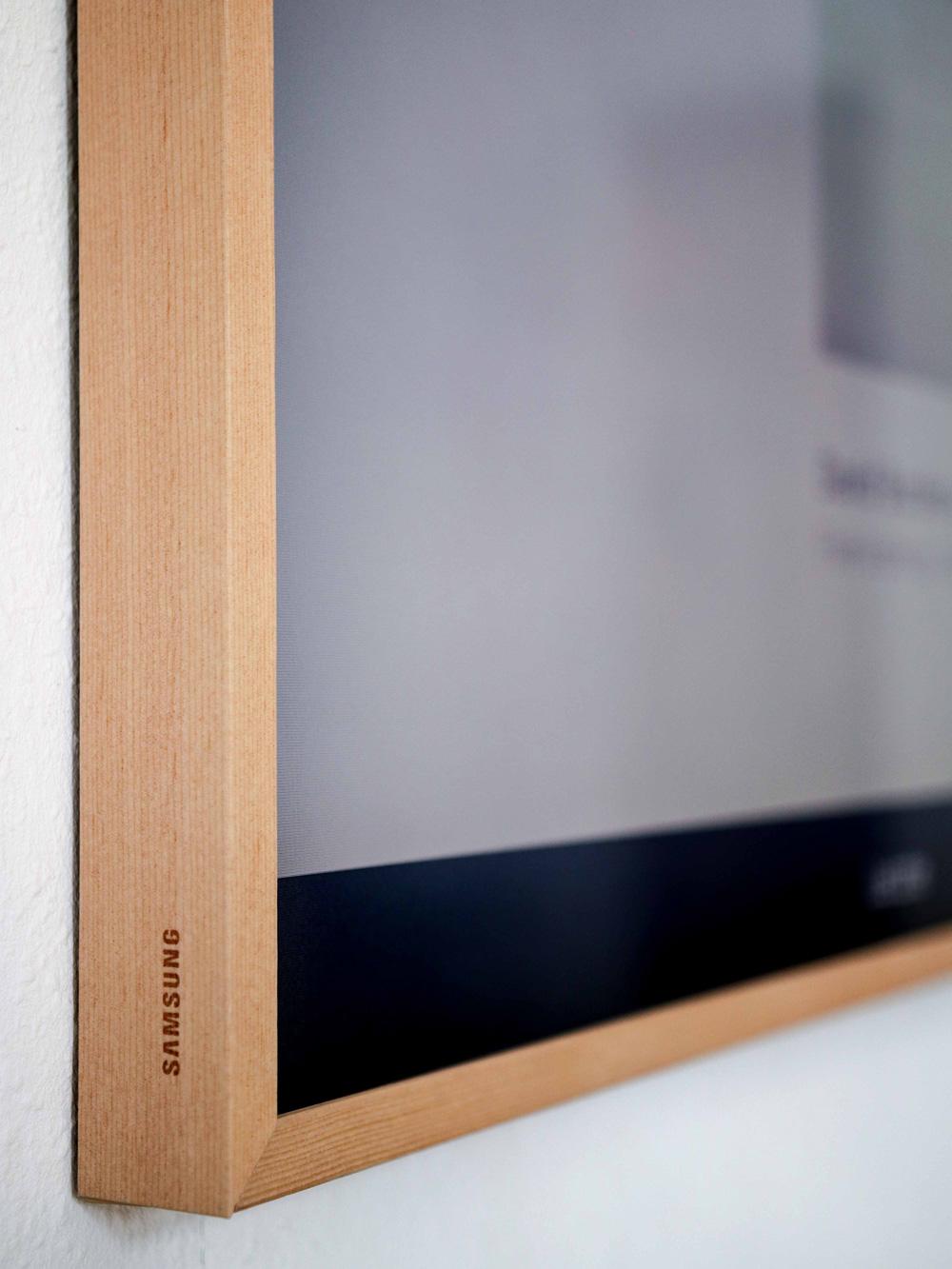 Samsung Frame TV Rahmen in Beige