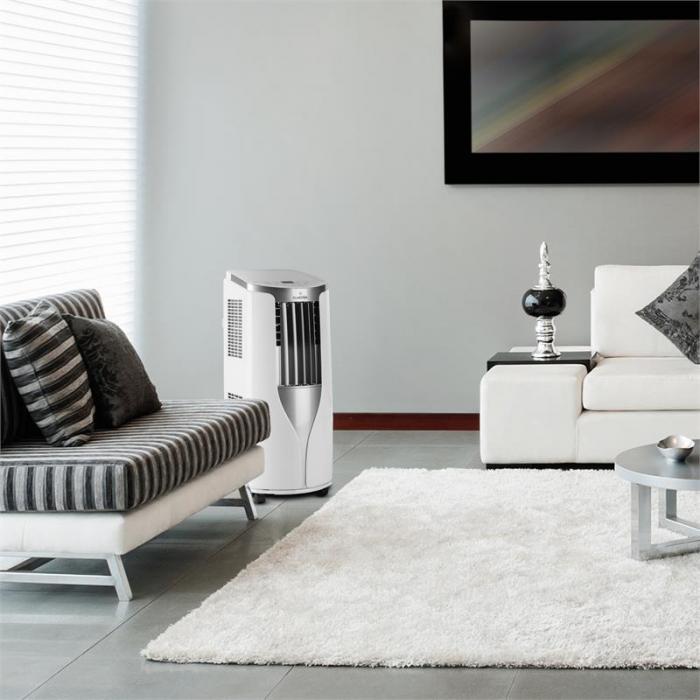 Klimaanlage von Klarstein im Wohnzimmer