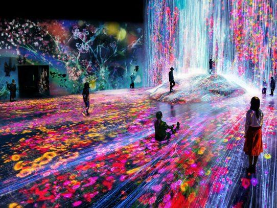 In Japan gibt es jetzt ein Museum für digitale Kunst