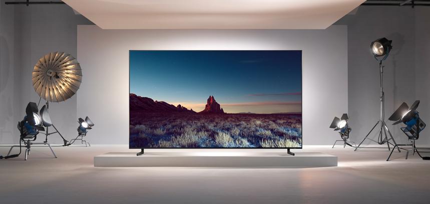 Q900 QLED 8K TV von Samsung